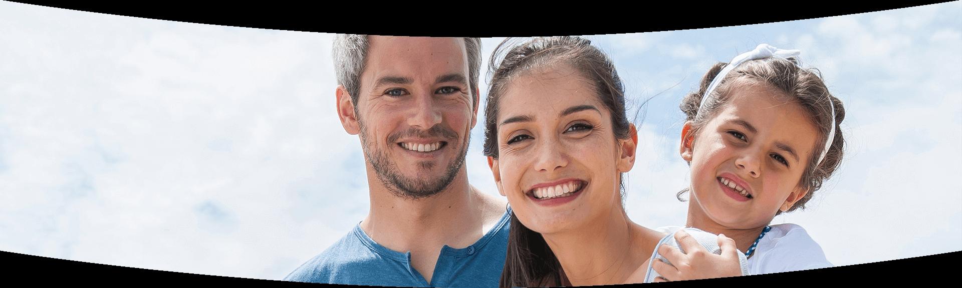 Dentist Calgary - Happy family 1